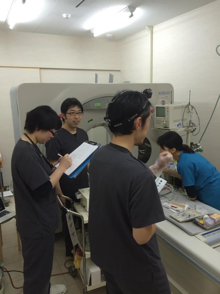 麻酔科、長濱正太郎 先生。